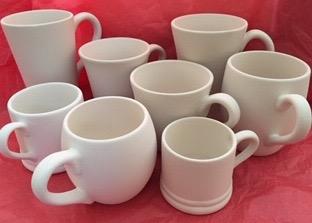 Hug in a mug, various sizes & prices