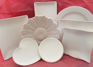 Plates, various shapes, sizes & prices